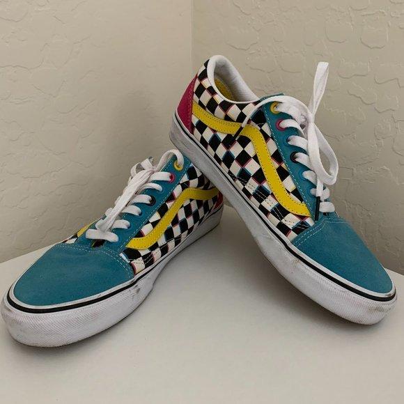 Vans Shoes | Old Skool Crazy Check